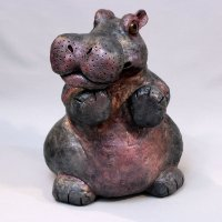 BIG Hippo sculpture